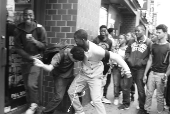After School Fight, 14th Street, 3 PM, Friday