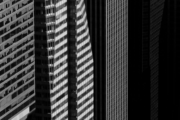 NYC Skyscraper Pinstripes