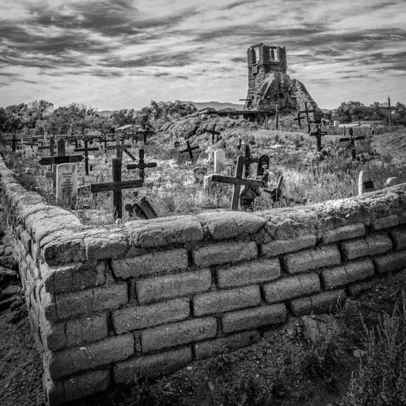 Burial Ground, Taos Pueblo
