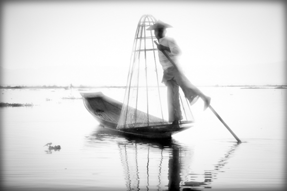 Fisherman, Inle Lake, Myanmar 2012
