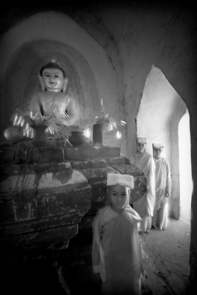 Sila Ran (Vessels of Virtue), Ananda Paya, Bagan, Myanmar