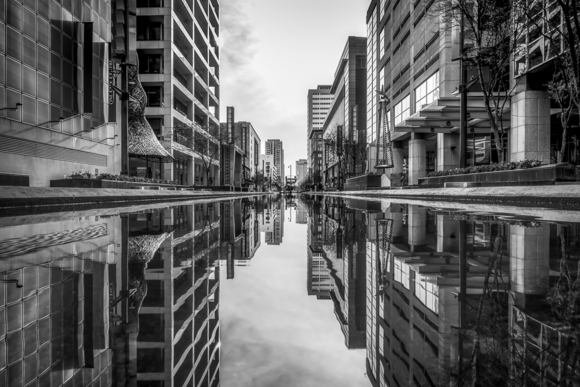 Houston Canal Reflections