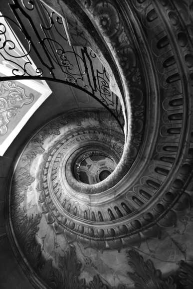 winding staircase of Melk