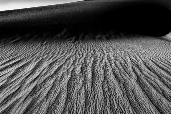 Sand Dunes at Death Valley