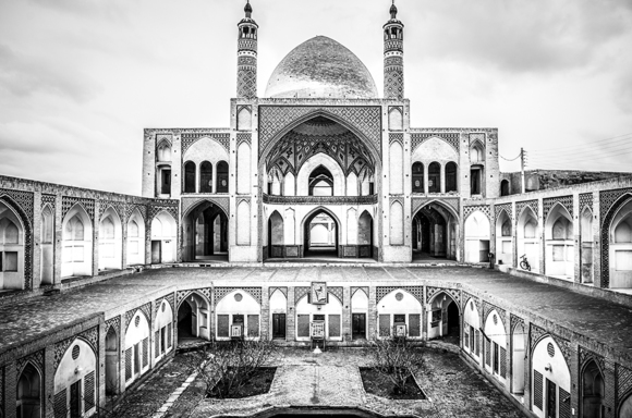 Agha Bozorg Mosque in Iran