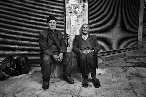 Old Men in Aleppo