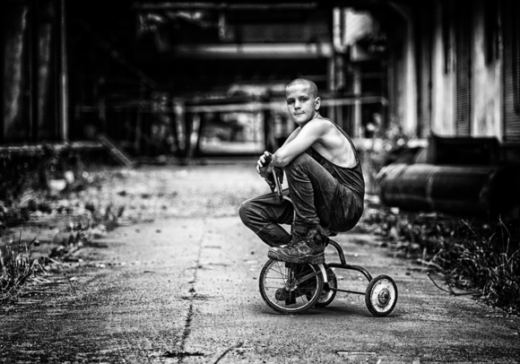 Boy with the Trike 2
