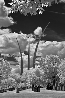 Infrared Air Force Memorial