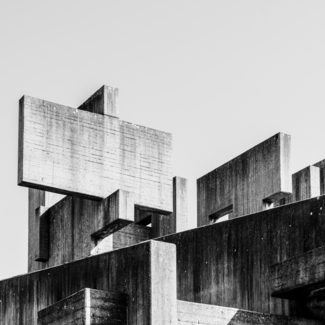 Concrete Cross 01