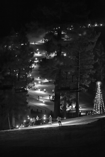 New Year's Eve Torchlight Ski Parade