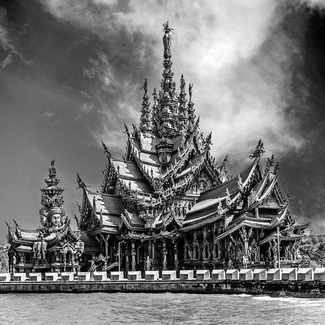 Sanctuary of Truth, Pattaya. Thailand