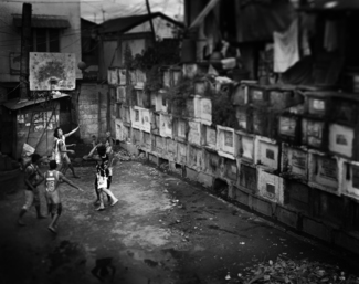 Kids from Navotas cemetery 5
