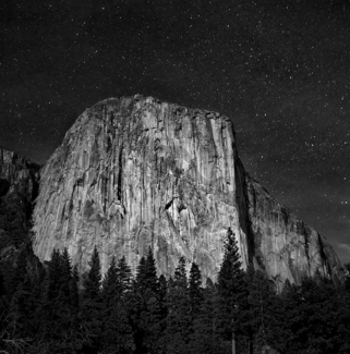 El Capitan at Night