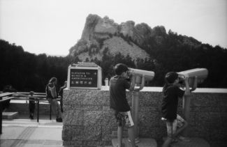At Mt. Rushmore
