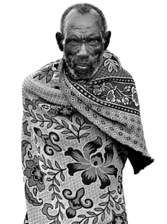Chawura, Tsiame Man, March 2011, Ethiopia