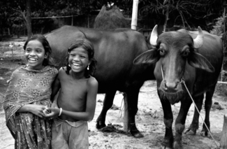 Santal Children, Bangladesh