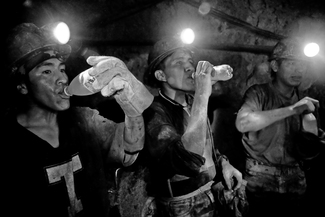The Silver Hunters' Break, Rosaria Mine, Potosi, Bolivia
