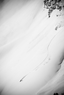 Korey Kaczmarek in Jackson Hole's Backcountry