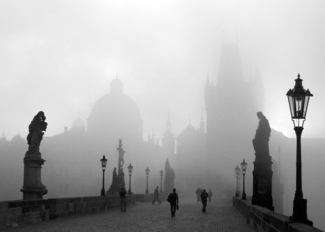 Early morning in Prag