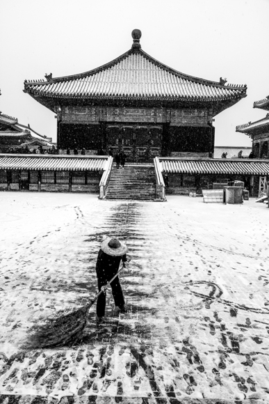 Beijing Snow at the Forbidden City