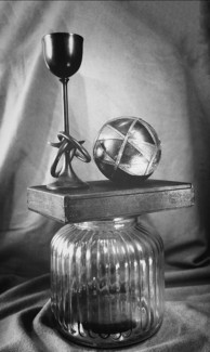 Glass, Box,Ball & Goblet