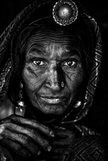 Charcoal Face of India