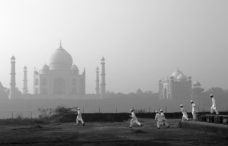 a visit to the Taj