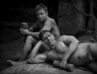 Kushti Wrestlers, Kolkuta, India 2019