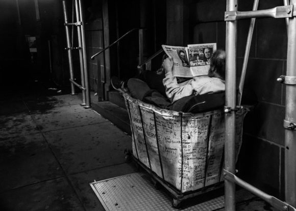 Homeless reader