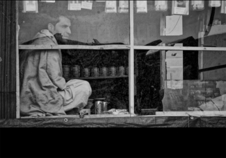 Refugee shopkeeper