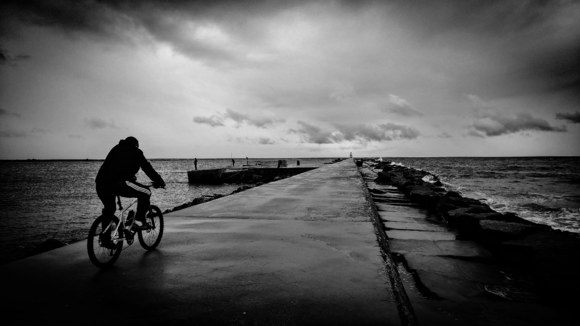 Cycling into the storm
