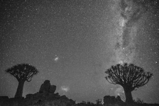 Namibia Night Milky Way