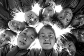 Bhutan School Children (1)