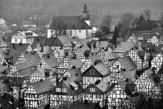 Black and White Village