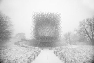 Hive at Kew, in Winter
