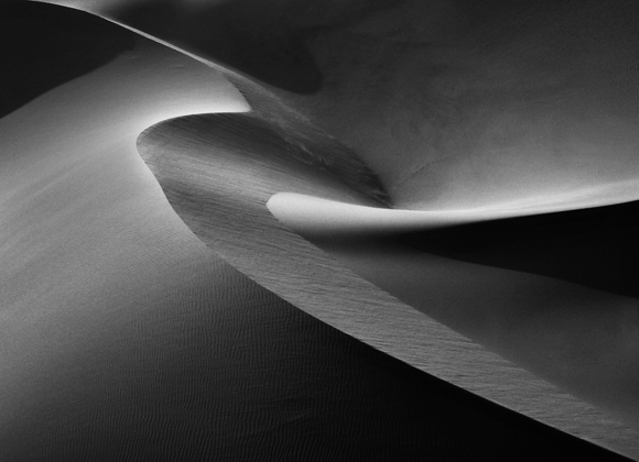 Abstract in Namibia's Sossusvlei Desert