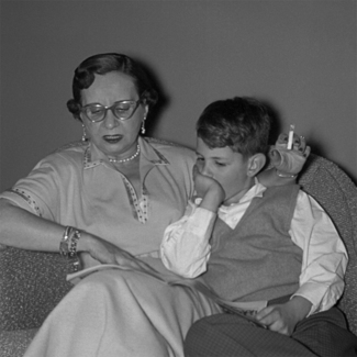 50s Grandmother Reads