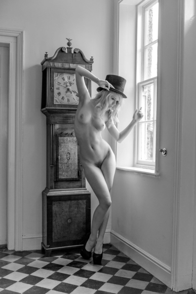 Angel and her Grandfather Clock