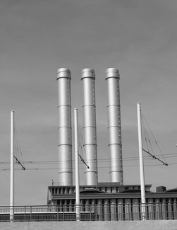 Three Smoke Stacks