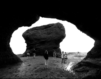 Hopewell Rocks Triple Frame