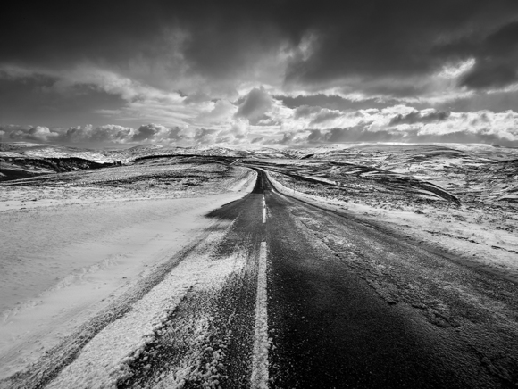 Snow Road Cairngorms