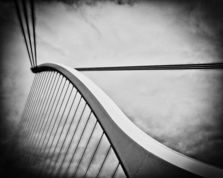 Harp Shaped Bridge