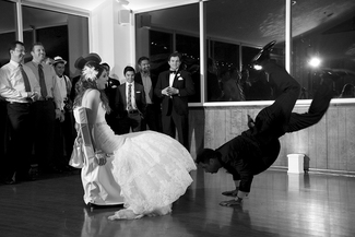 Break Dance Wedding