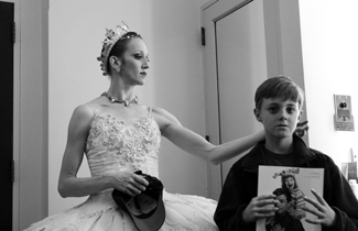 After Mother and Son Dance The Nutcracker Ballet