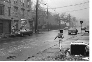 Child Walking Away in Fog.