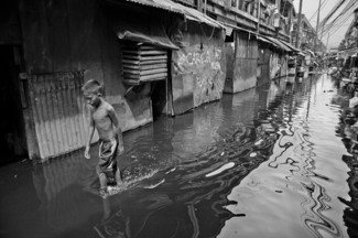 Flooded Streets of Tondo
