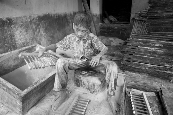 Child Labor - Covered in Powder