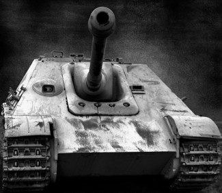 German 88mm Hunting Panther V Tank Killer