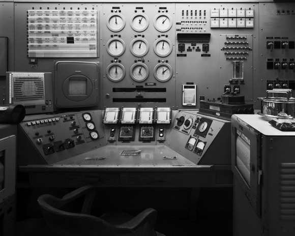 B Reactor Control Console