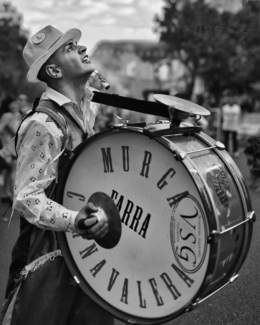 Carnaval Drummer, Buenos Aires